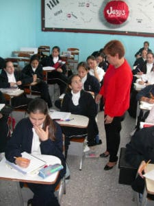 Lay teacher