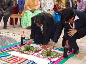 Ritual in Peru