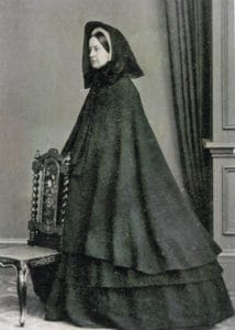 Dress of the widow, 19th century