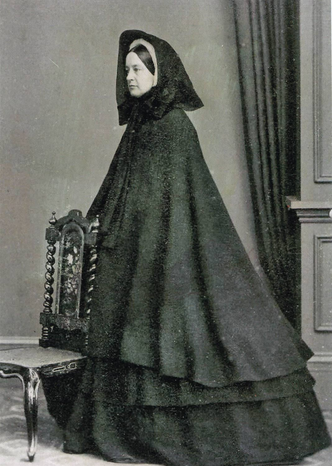 Dress of the widow, 19th century | Heritage Center