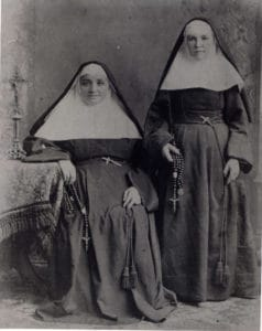 Mother St. Pierre Cinquin and Mother Madeleine Chollet
