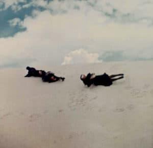 Sand dunes, New Mexico