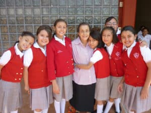 Young students in Mexico