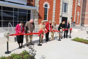 Dedication of the new Fine Arts Facility