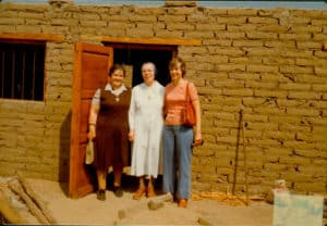 Srs. Eileen Friel, Louise Mair and Peggy Bonnot