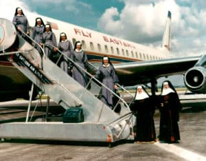 First Sisters leaving for Peru